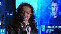 "[LIVE] Lucie (The Voice saison 6) chante ""Halo"" de Beyonce en direct sur Europe 1, Vincent Vinel au piano"