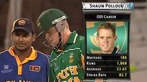 Remember the time Kumar Sangakkara got stuck into Shaun Pollock at the 2003 ICC Cricket World Cup? Well so does Shaun