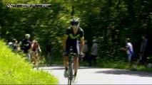 Valverde attaque / attacks   - Étape 6 / Stage 6 - Critérium du Dauphiné 2017