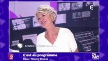 Sophie Davant s'emmêle les pinceaux dans C'est au programme