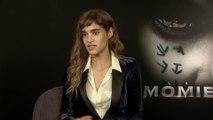 La Momie. Rencontre avec Sofia Boutella