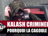 Pourquoi Kalash Criminel porte une cagoule ? #PlanèteRap