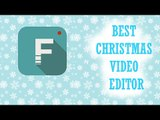 Filmora: Christmas Video Editor