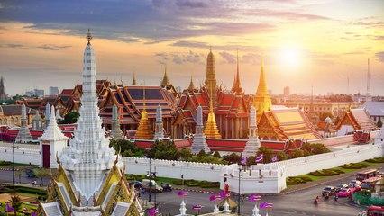 BANGKOK SKYLINE, THAILAND ( HD 2017)