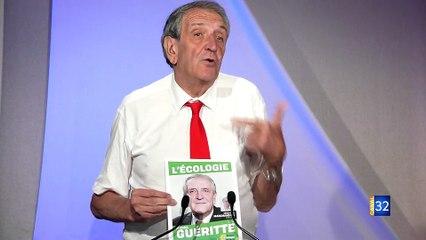 Legislatives : Interview de Michel GUERITTE par Canal 32