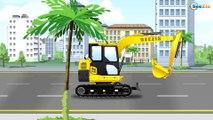 Tractor y el Pequeño Camiones - Carros para niños - Carritos infantiles - Videos para niños