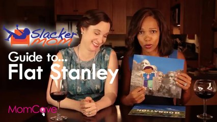 Flat Stanley Project for SLACKER MOMS | Flat Stanley for Dummies | School Projects | MomCaveTV.com