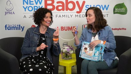 The New York Baby Show | MomCave talks Nose Frida the Snotsucker | Funny Moms