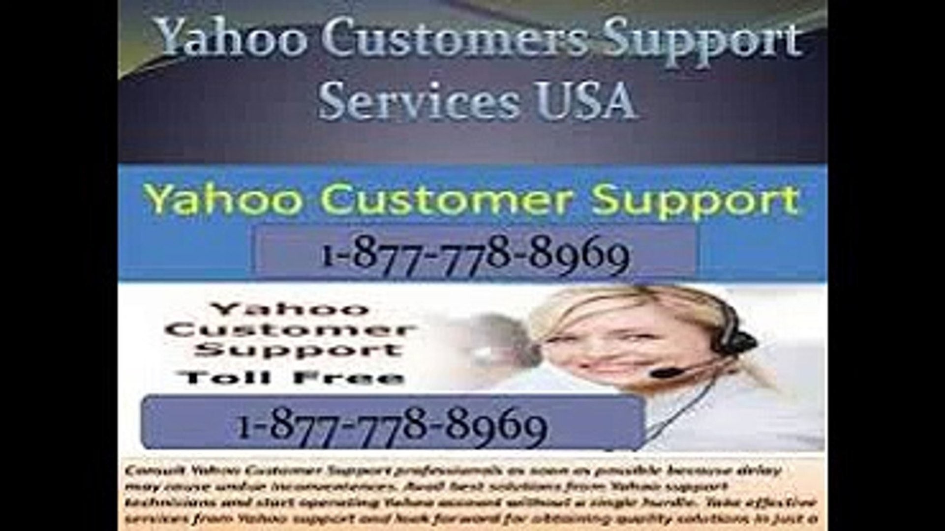 YAHOO Support %% [1-877-778-89-69] YAHOO Customer Service  Toll Free Number USA