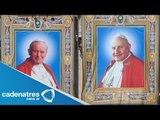 Canonización histórica: Juan Pablo II y Juan XXIII ya son santos