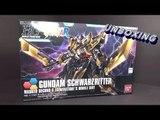 Unboxing: 1/144 HGBF Gundam Schewarzritter