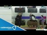 Harry Potter sorprende a pasajeros neoyorquinos
