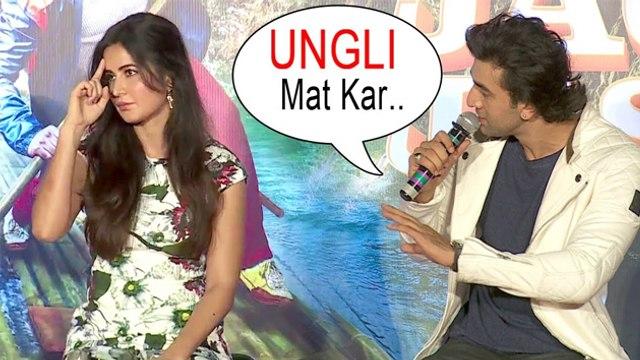 Ranbir Kapoor Insults Katrina Kaif At Jagga Jasoos Song Launch