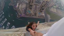 Selfie estremo - La modella Viktoria Odintsova rischia la vita