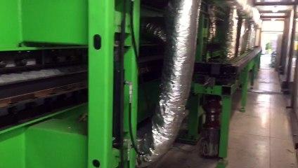 Vidéo 6 - Ligne continue de production de panneaux sandwich polyuréthane ISC ITALYte