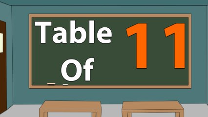 Learn 11x Table Multiplication | 11 Times Table | Learn Eleven Multiplication Tables For Kids