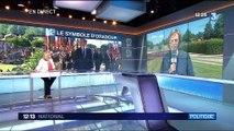 """Commémoration du massacre d'Oradour-sur-Glane : Macron """"endosse le rôle de père de la nation"""""""