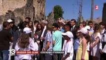 Commémoration du massacre d'Oradour-sur-Glane : Macron s'adresse aux jeunes