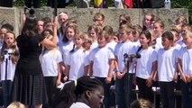 Macron au 73e anniversaire du massacre d'Oradour-sur-Glane