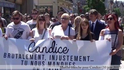 Marche blanche en mémoire de Candice