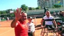 Roland-Garros 2017 - Le bonheur de Stéphane Houdet et Nicolas Peifer après leur victoire en finale !