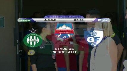 Résumé finale coupe Rhône-Alpes Féminines 2017 AS Saint-Etienne - GF38