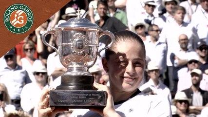 Roland-Garros 2017 : L'émotion de la gagnante, Jelena Ostapenko