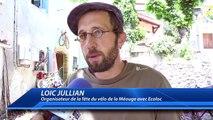 Hautes-Alpes : une fête du vélo sous le soleil dans les gorges de la Méouge