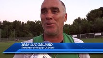 Alpes du Sud : l'entraîneur du CA Digne fier de ses joueurs malgré la défaite à la finale la Coupe des Alpes