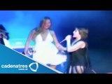 Alejandra Guzmán comparte escenario con Frida Sofia / Alejandra Guzman  Frida Sofia