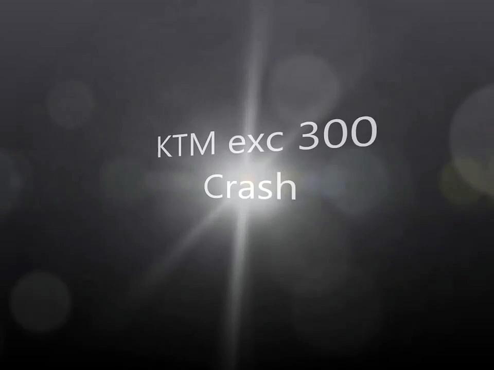 KTM 300 crashwerwer