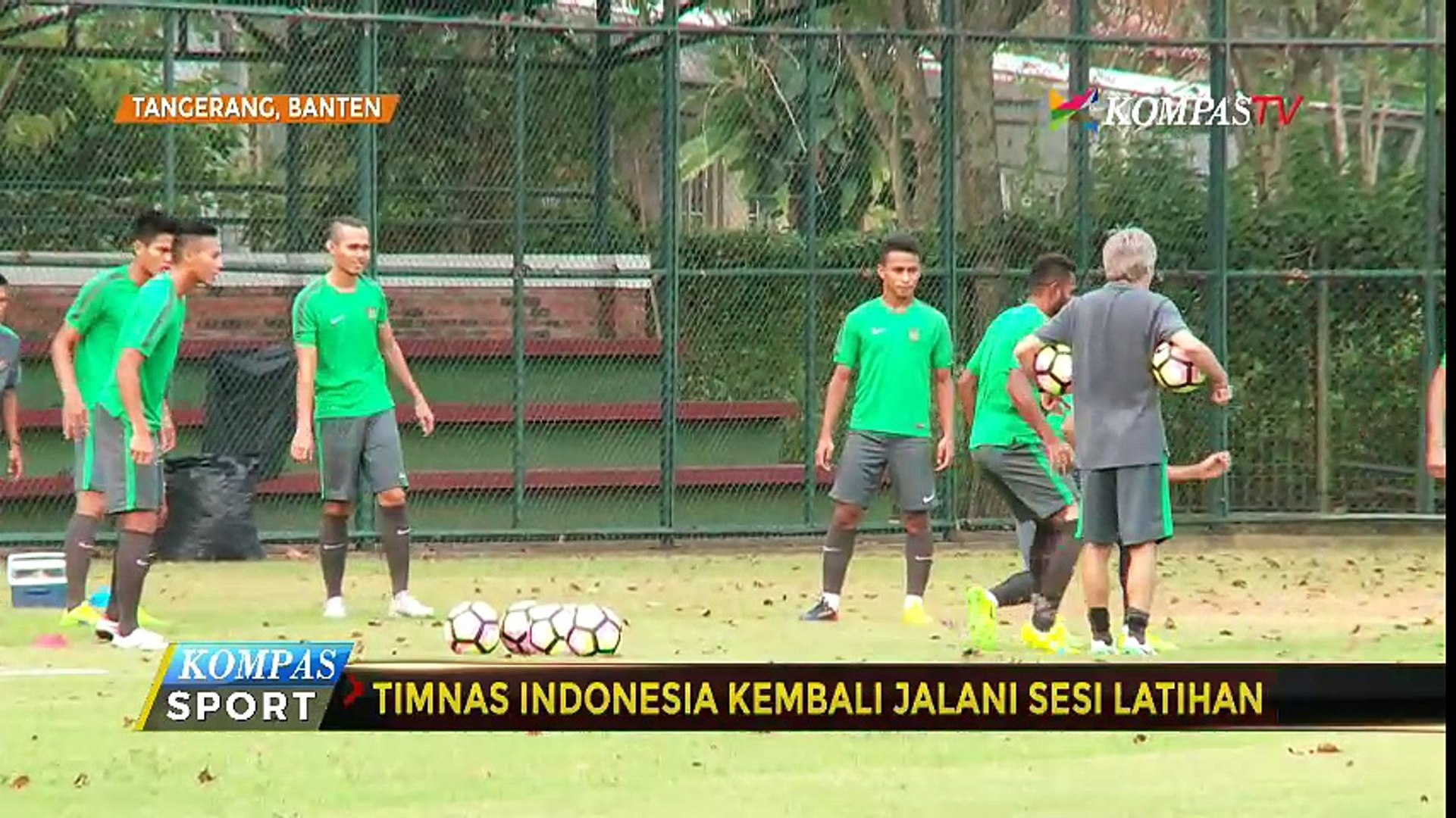 Timnas U-22 Berlatih Ringan Jelang Uji Coba