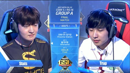 [4/4] GSL RO16 Group A: Stats / Trap / ByuL / GuMiho