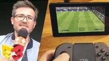 E3 2017 : On a joué à FIFA 18 sur Switch, et c'est pas si mal