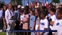 Commémoration du massacre d'Oradour-sur-Glane
