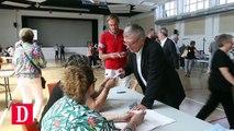 Législatives : Jean Glavany a voté dans son fief, dans les Hautes-Pyrénées