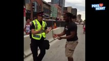Police Officer Participates in Dance Party 2016 - Daily Heart Beat