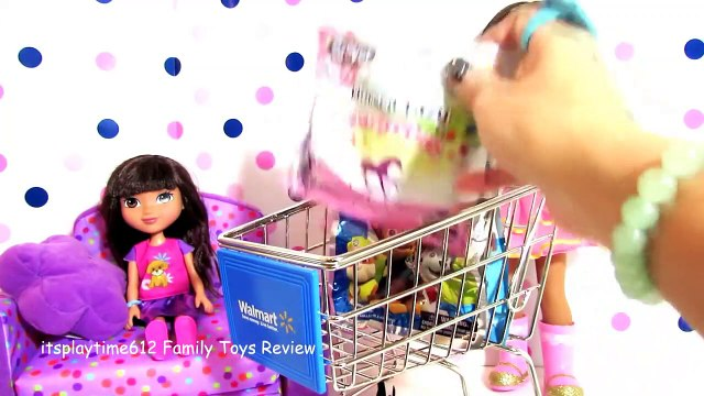 SURPRISE TOYS IN WAART SHOPPING CART with AG Doll Ashlyn _