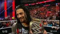 Roman Reigns is confronted by Y2J, AJ Styles, Kevin Owens and Sami Zayn - WWE Raw
