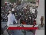 [JT Wolof] Macky Sall à Thies avec Idrissa Seck et Bara Tall