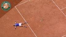 Roland-Garros 2017 : Rafael Nadal, de son premier point en 2005 au dernier point en 2017