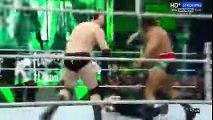 wrestling Triple H vs Dean Ambrose on WWE Raw