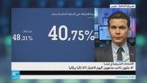 نسب المشاركة في الانتخابات التشريعية الفرنسية
