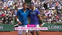 Roland-Garros 2017 : le Best of de la finale Nadal VS Wawrinka