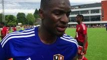 Verviers: l'interview de Paul José Mpoku à la mi temps du match de Gala Verviers Bruxelles