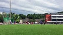 Verviers: second goal de Verviers lors du match de gala opposant Verviers à Bruxelles