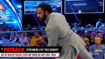 Jinder Mahal steals the WWE Championship from Randy Orton SmackDown
