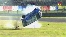 Castelli Massive Crash 2017 Fiat Punto Abarth Termas Final 2