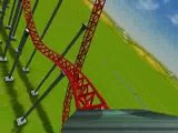 Roller Coaster Tycoon 3 | Red Coaster