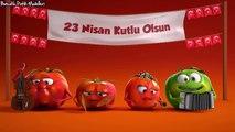 Tatlı domatesler 23 Nisan Çocuk Bayramı Reklamı uzun versiyon,Çocuklar için çizgi filmler 2017